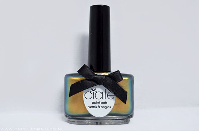 Nail art tutorial Ciate Oil Slick 2