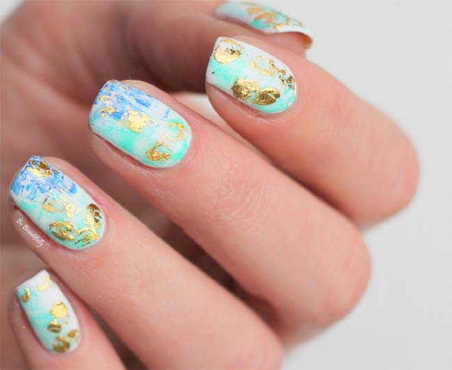 Nail Art Distressed 2