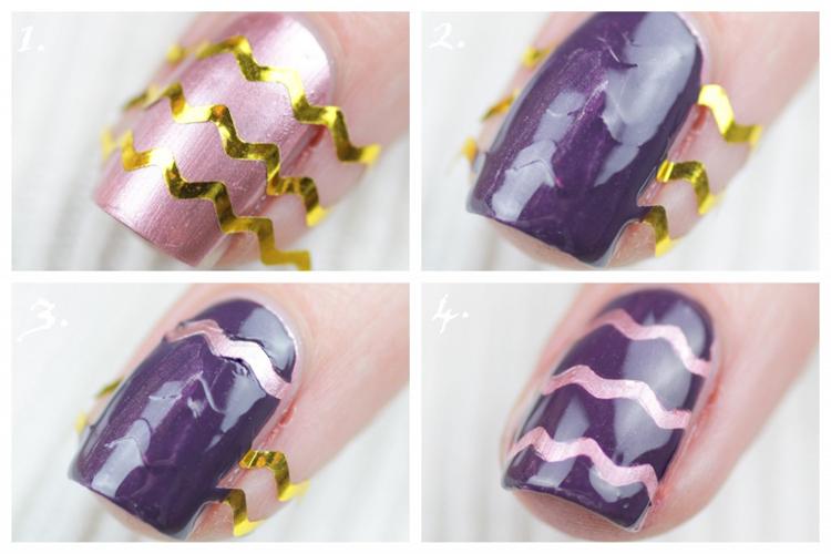 feestelijk-chevron-nail-art-3