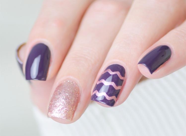 feestelijk-chevron-nail-art-4