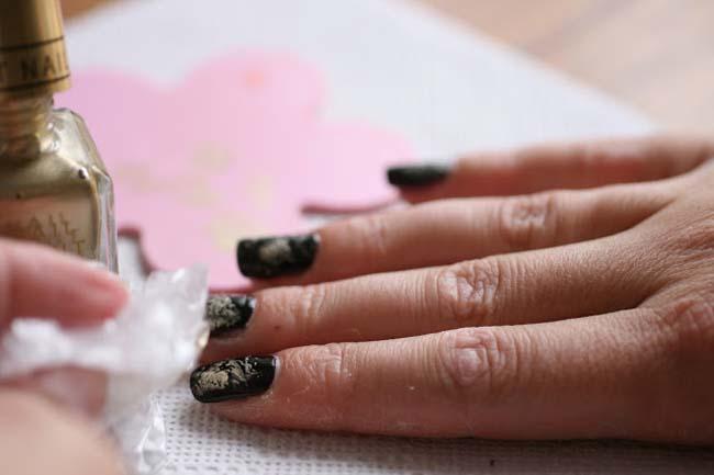 De verschillende technieken van nail art 4