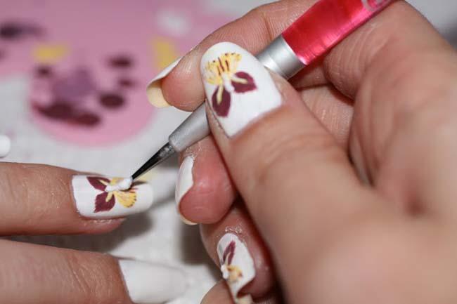 De verschillende technieken van nail art 6