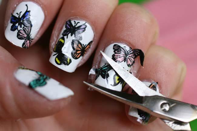 De verschillende technieken van nail art13