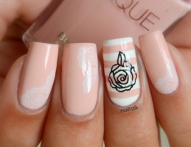 Nail Art Bourjois LaLaque Chair Et Tendre 3