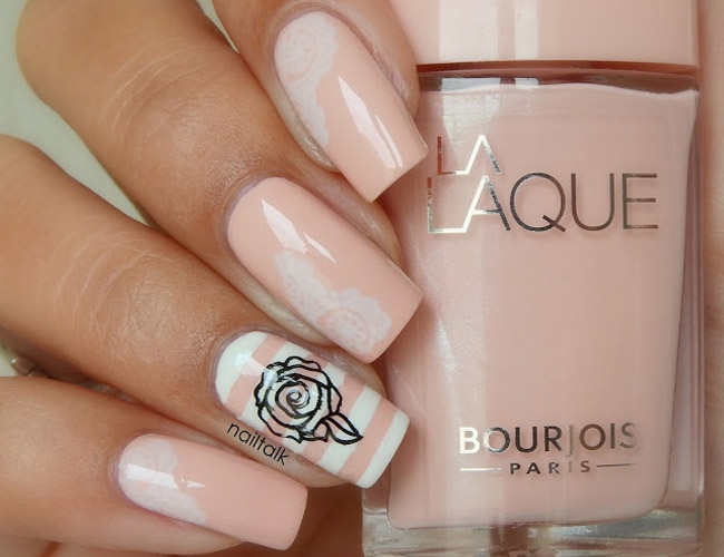 Nail Art Bourjois LaLaque Chair Et Tendre 4