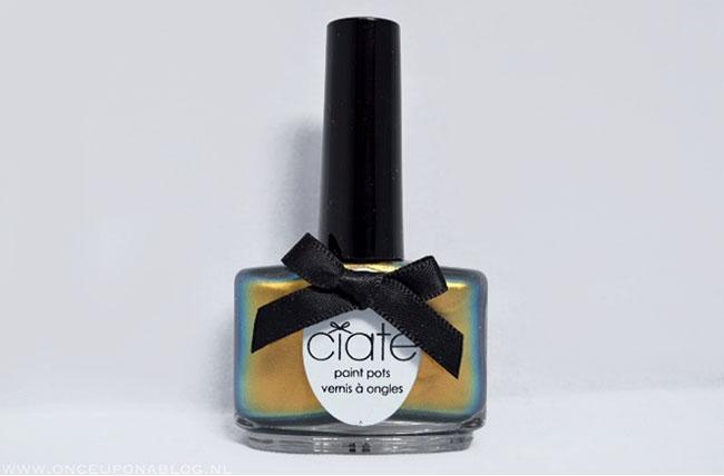 Nail art tutorial Ciate Oil Slick 2