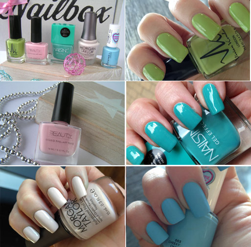 Nailbox spring love swatches