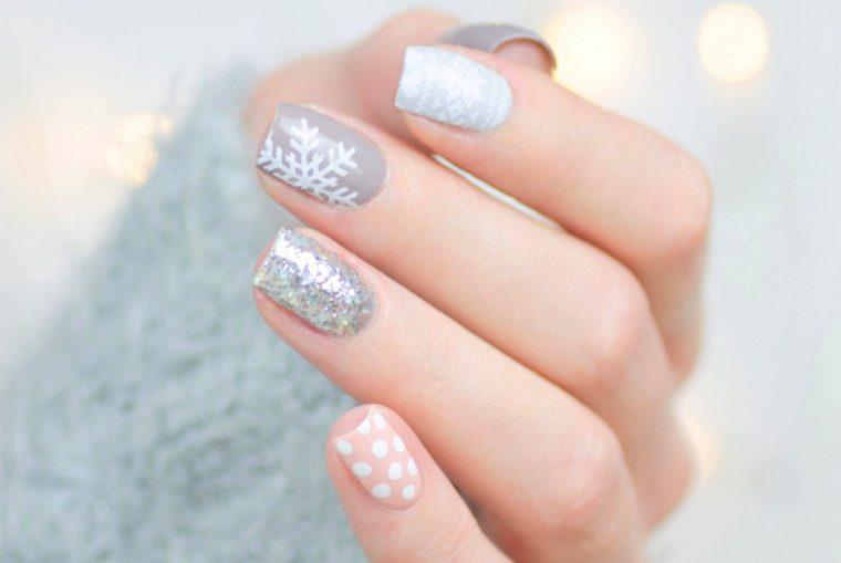 Tutorial Mix Match Winter Nail Art Nailbox