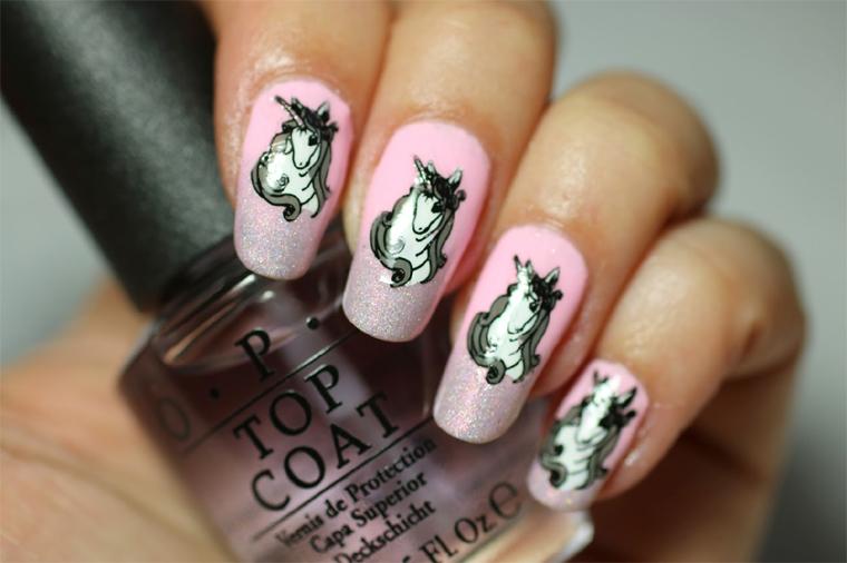 Tutorial Unicorn Magic Nail Art Nailbox